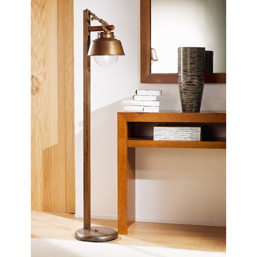 Lustrarte Lighting Nautic Amarras 56.69'' Task Floor Lamp