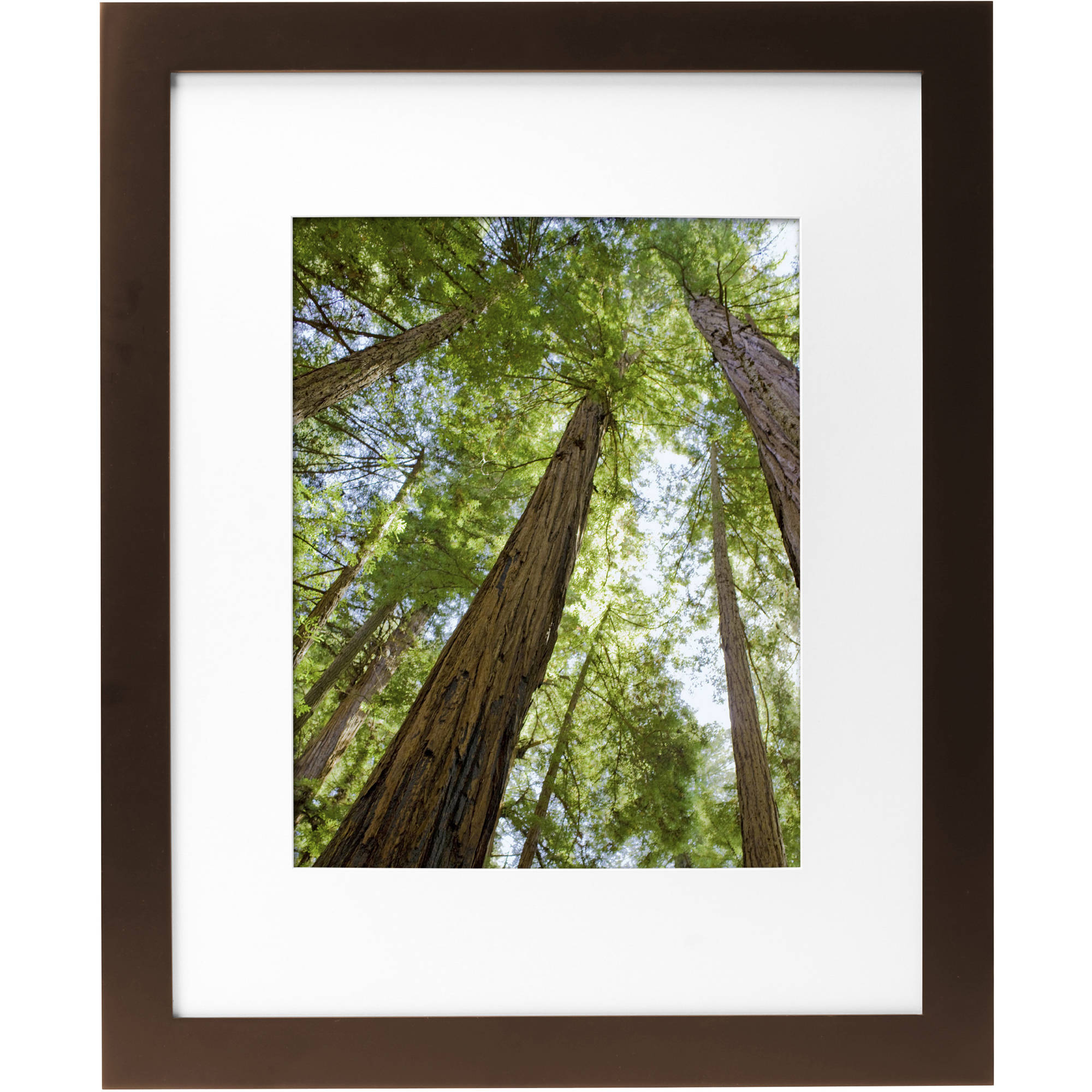 """Mainstays Museum 16"""" x 20"""" Matted to 11"""" x 14"""" Solid Wood Picture... by Uniek"""