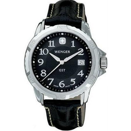 Men's Black Wenger GST Swiss Watch 78235