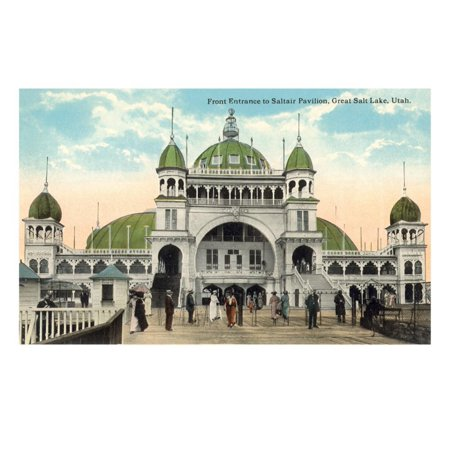 Saltair Pavilion, Salt Lake City, Utah Print Wall Art](Salt Lake City Halloween Party)