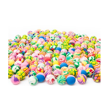 Bulk Toys Fun Central 27Mm Assorted Super Bouncy Balls  250Pc Set
