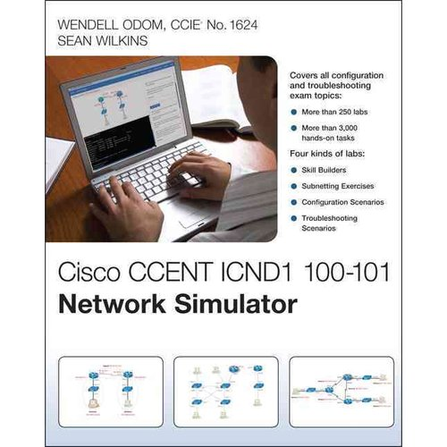 Cisco CCENT ICND1 100-101 Network Simulator