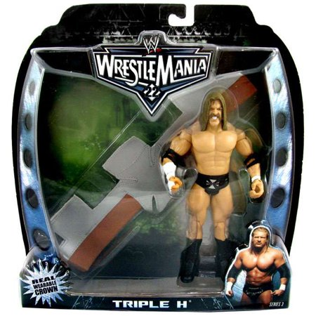 WWE Wrestling Road to WrestleMania 22 Series 3 Triple H Action