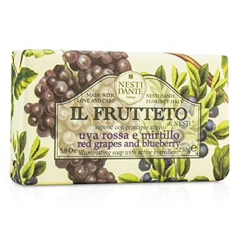Il Frutteto Illuminating Soap - Red Grapes & Blueberry 8.8oz