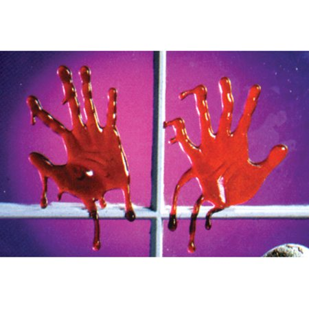 Drips of Blood Hand-Style Adult Halloween Accessory (Strictly Style Halloween)