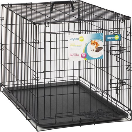 Aspen Pet Wire Home Training Dog Kennel  34 W X 22 D X 25 H