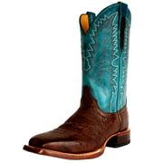 Cinch Western Boots Mens Ostrich Cowboy Square Kango Tobacco CFM558