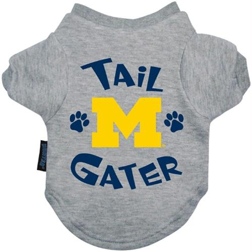 Michigan Wolverines Tail Gater Tee Shirt - Small