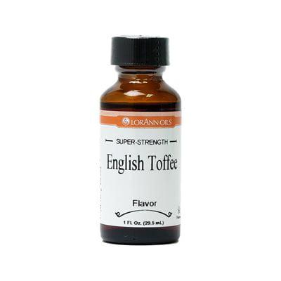 LorAnn Oils Super Strength English Toffee Flavor Oil, 16 Ounce