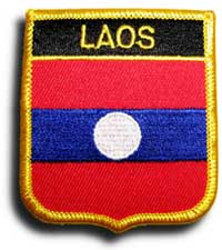 Laos Shield Patch