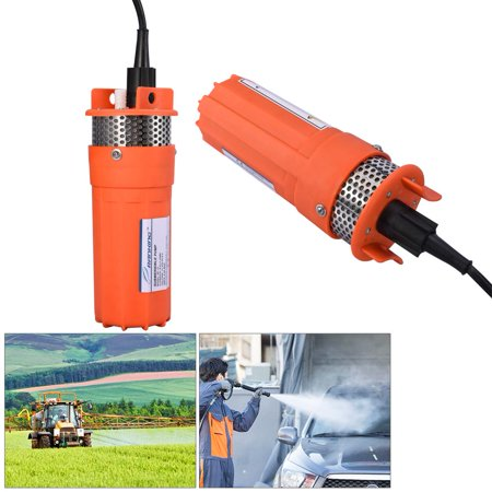 YOSOO 1/2Inch 12V Submersible Deep Well Water DC Pump Alternative Energy Solar Powered for Farm Ranch Outdoor Remote Water Use