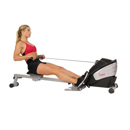 Sunny Health Fitness SF-RW5622 Dual Function Magnetic Rowing Machine