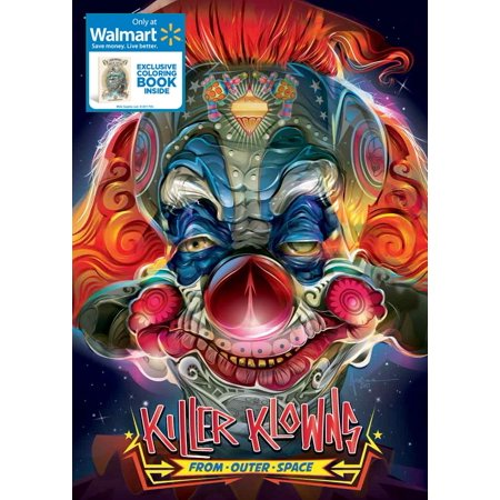 Killer Klowns From Outer Space (Walmart Exclusive) (Blu-ray)](The Killer In The Movie Halloween)