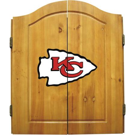 Imperial International NFL Dart Cabinet, Kansas City Chiefs