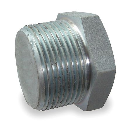 "Value Brand 3/8"" MNPT Galvanized Hex Head Plug, 1MPL5"