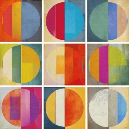 Pattern Tiles I Rolled Canvas Art - NOAH (12 x - Noahs Ark Tile