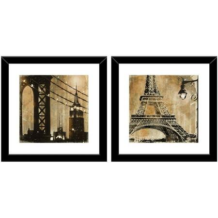 Ny and Paris Wall Art, 14