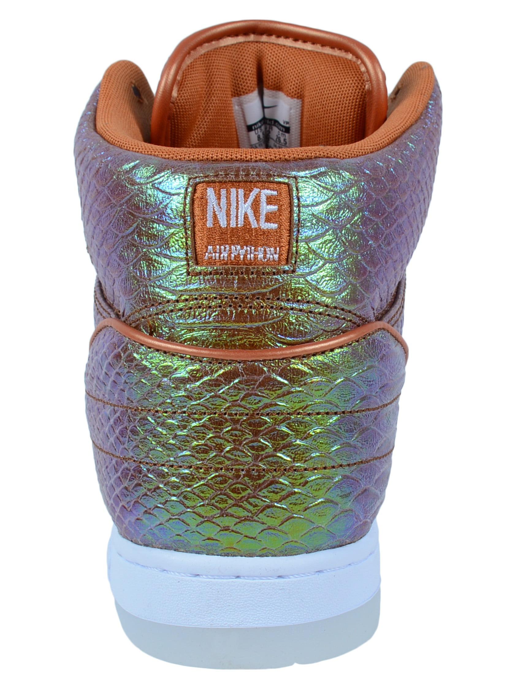 5670466f8aa Nike - NIKE AIR PYTHON PRM  IRIDESCENT  FASHION SNEAKERS TAWNY METALLIC  705066 202 - Walmart.com