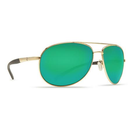 9d3e88d856eb4 Costa Del Mar - Costa Del Mar Wingman Gold Square Sunglasses - Walmart.com