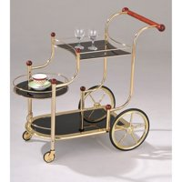 ACME Lacy Serving Cart, Gold Plated