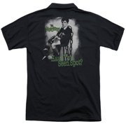 The Munsters Have You Seen Spot (Back Print) Mens Polo Shirt