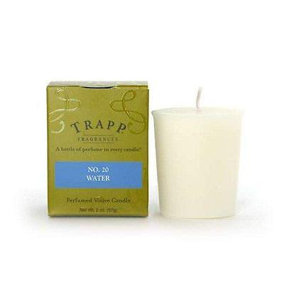 Trapp Candle Flowers - Trapp Candles No 20-Water- 2 Oz Votive only one
