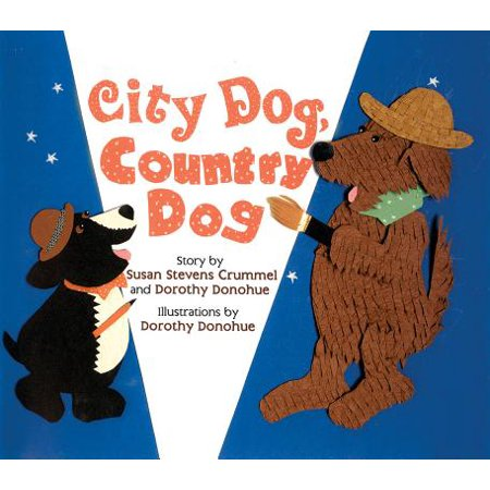 City Dog, Country Dog : Adapted from an Aesop Fable