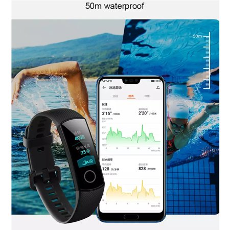 New Huawei Honor Band 4 Smart Wristband Amoled Touchscreen Posture