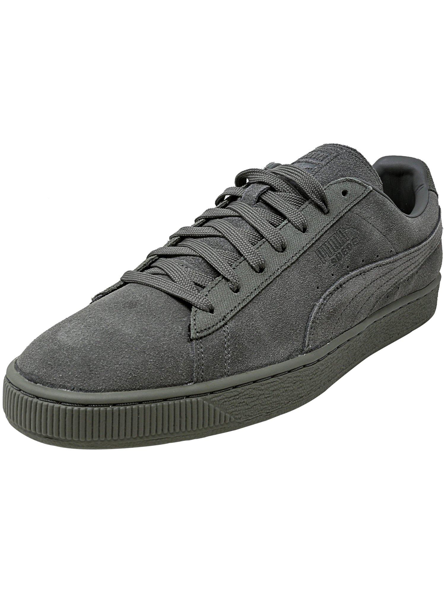 Puma Men's Classic Tonal Suede Natural Vachetta Ankle-High Fashion Sneaker - 10M