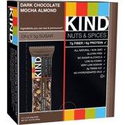 KIND Nuts & Spices Bars, Dark Chocolate Mocha Almond, 1.4 oz, 12 Count