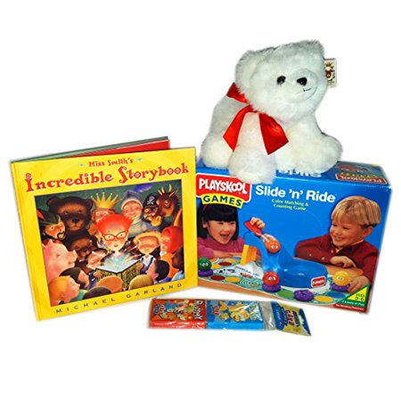 Preschoolers Play & Learn With Games, Book And Friend Gift Bundle Ages 3+ [4 Piece]