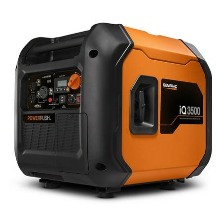 Generac iQ3500 - 3500 Watt Portable Inverter Generator, 50 State/CSA