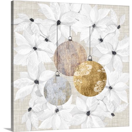 Great BIG Canvas Grace Popp Premium Thick-Wrap Canvas entitled Sophisticated Christmas (Sophisticated Decor)