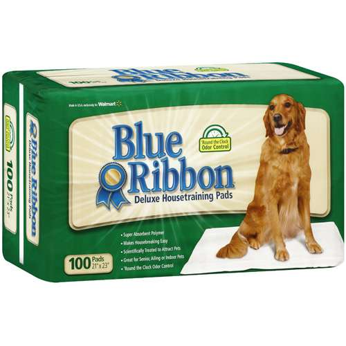 Blue Ribbon Deluxe Housetraining Pads, 100-Count