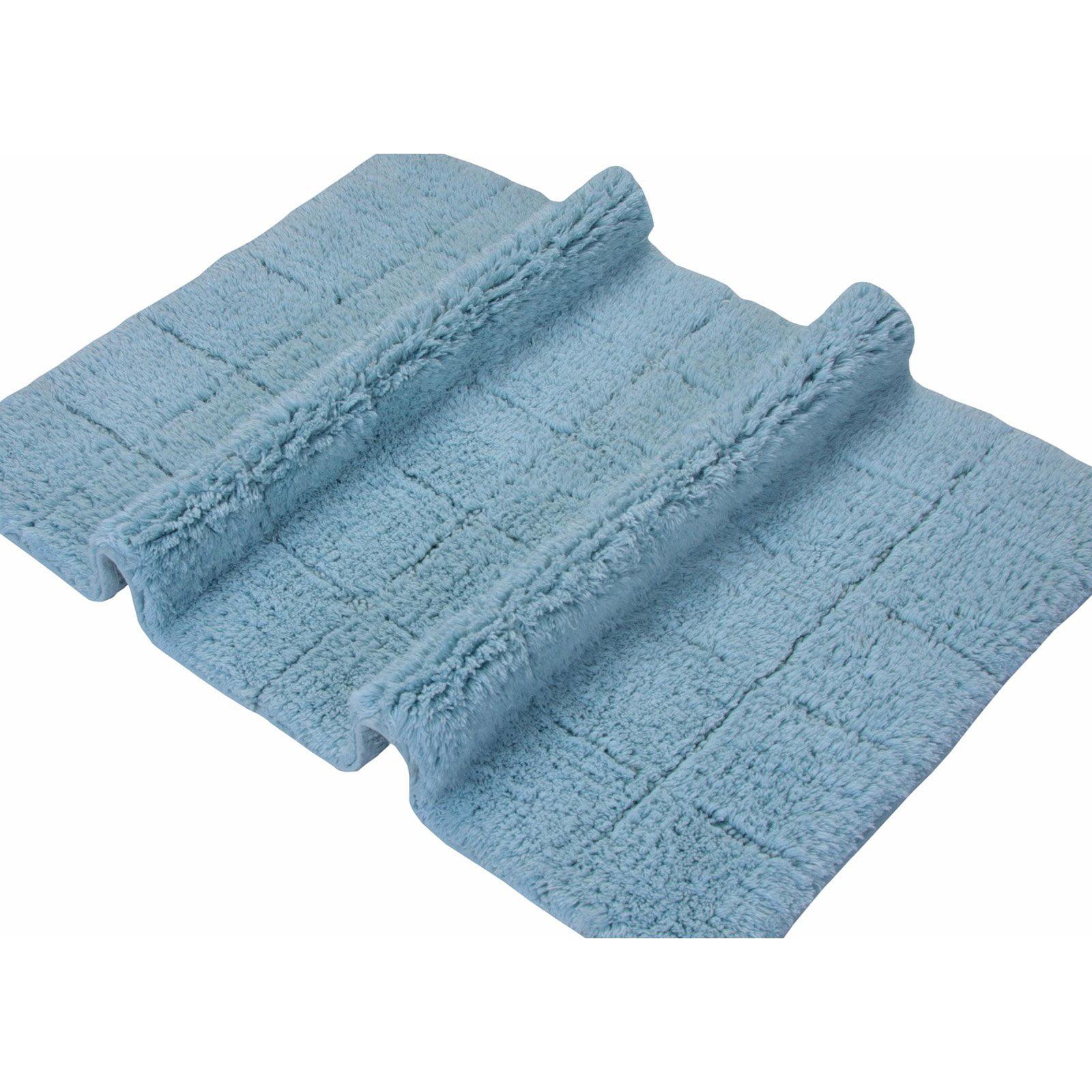 Textile Decor Elegance Collection Summer Tile Bath Rug