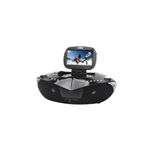 "Naxa NDL-400 7"" TFT LCD Display Portable DVD Player with Digital TV Tuner, AM/FM"