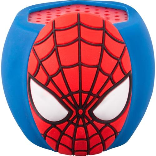 Sakar Kids Spiderman Molded Bluetooth Speaker - Spiderman Molded Bluetooth Speaker - Stream And Listen To Music Wirelessly - Plays 8 Hours On One Charge - Built In Rechargeable Battery (sp2-03346)