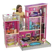 Deals on KidKraft Wooden Uptown Dollhouse with 36 Accessories