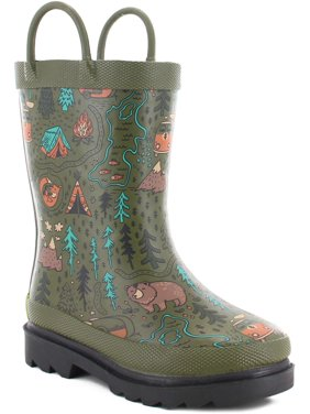Western Chief Boys' Wild Adventure Rain Boot