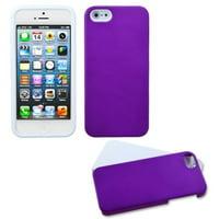 MyBat Fusion Hard Hybrid Plastic Silicone Cover Case For iPhone SE 5 5S case cover