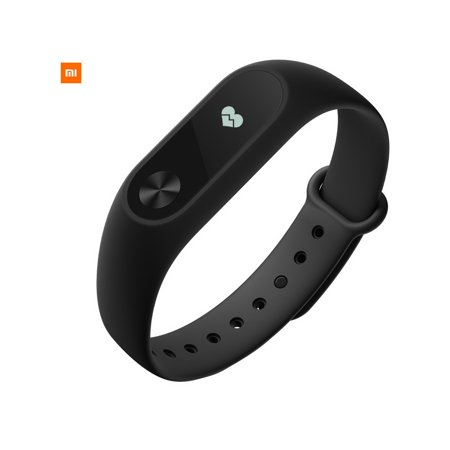 For Xiaomi Mi Band 2 Touch Screen 0 42  Oled Smart Wristband Bracelet   Black