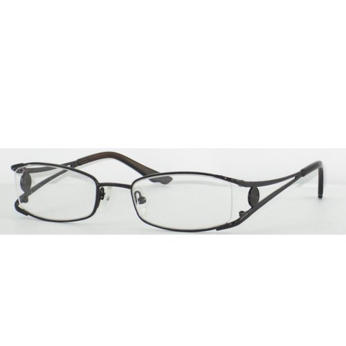 """Allure Eyewear Women's """"O"""" By Oscar Glasses With Vented Temple With """"O"""" Logo Applique Detail"""