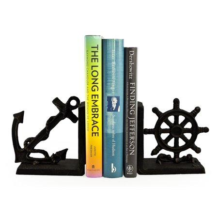 Danya B. Nautical Iron Bookend Set