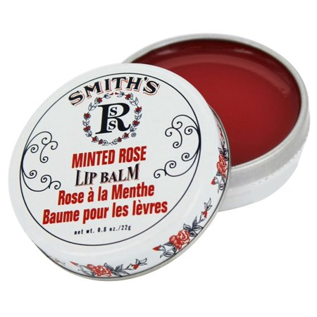 Rosebud Perfume Co. Smith's Lip Balm Minted Rose, 0.8