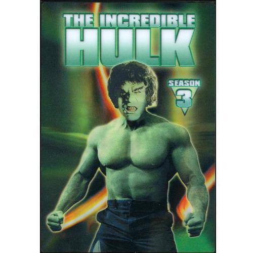 The Incredible Hulk: The Complete Third Season [5 Discs] [DVD]