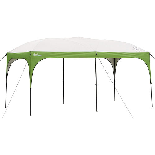Coleman 16' x 8' Straight Leg Instant Canopy   Gazebo (128 sq. ft Coverage) by COLEMAN