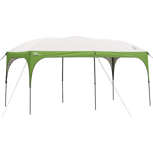 Coleman 16' x 8' Straight Leg Instant Canopy / Gazebo (128 sq. ft Coverage)