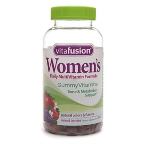 Vitafusion Women's Daily Multivitamin Gummy 150 ea (Pack of 6)