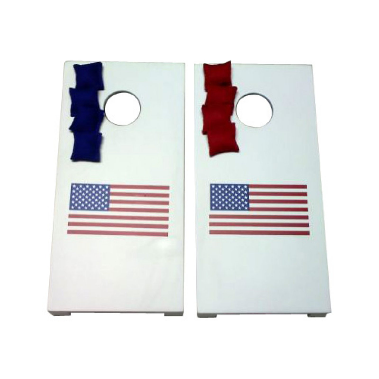 USA Tabletop Cornhole Set by AJJ Cornhole