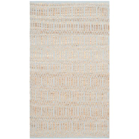 """Safavieh Cape Cod 2'3"""" X 8' Hand Woven Rug in Silver and Natural - image 6 de 6"""